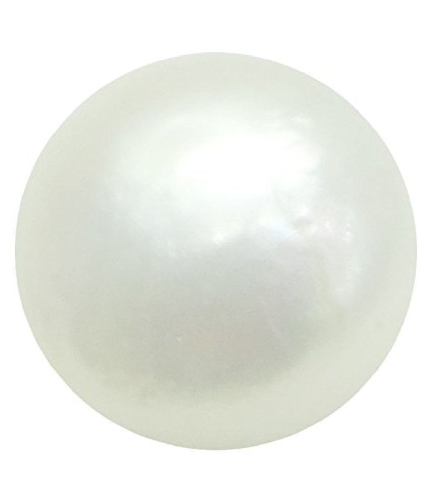 PEARL 5.82 ct. / 6.47 Ratti PURE & IIGS CERTIFIED PEARL (MOTI) ASTROLOGICAL BIRTHSTONE BY ARIHANT GEMS AND JEWELS