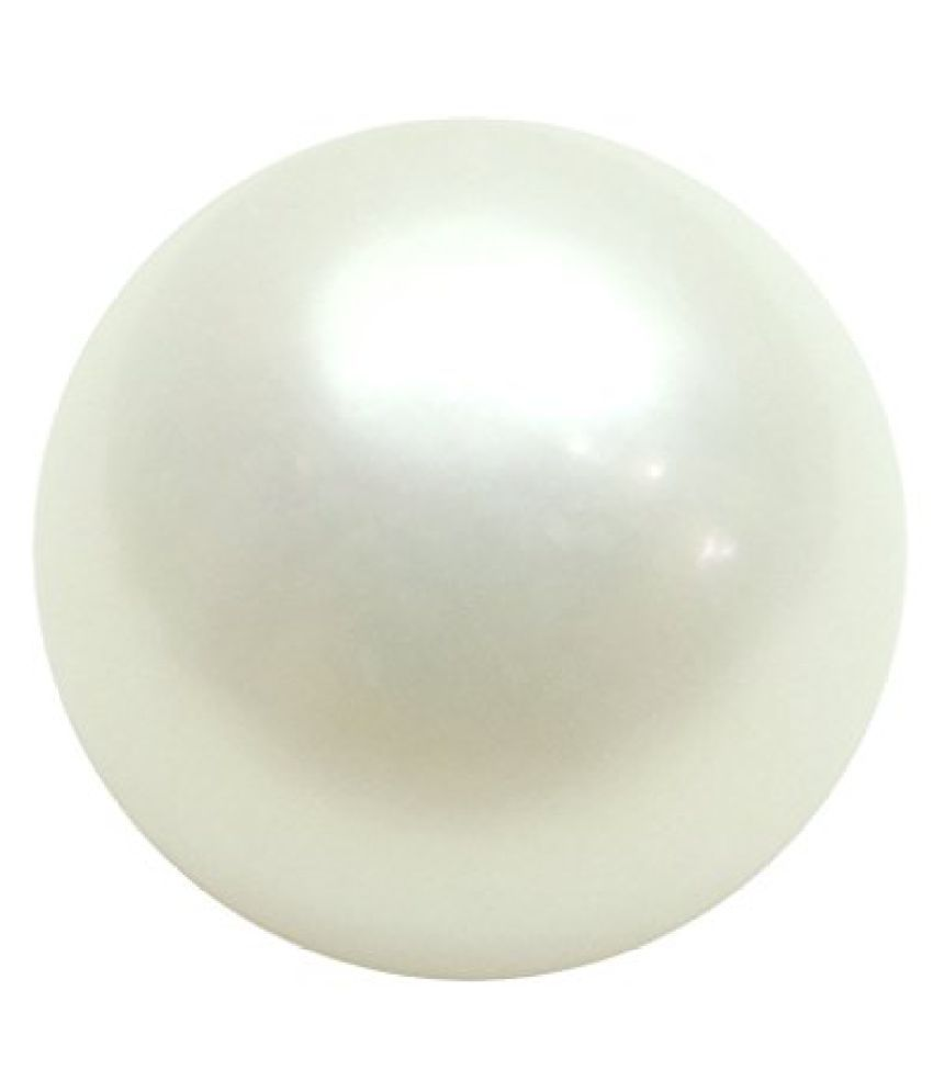 PEARL 7.63 ct. / 8.48 Ratti PURE & IIGS CERTIFIED PEARL (MOTI) ASTROLOGICAL BIRTHSTONE BY ARIHANT GEMS AND JEWELS