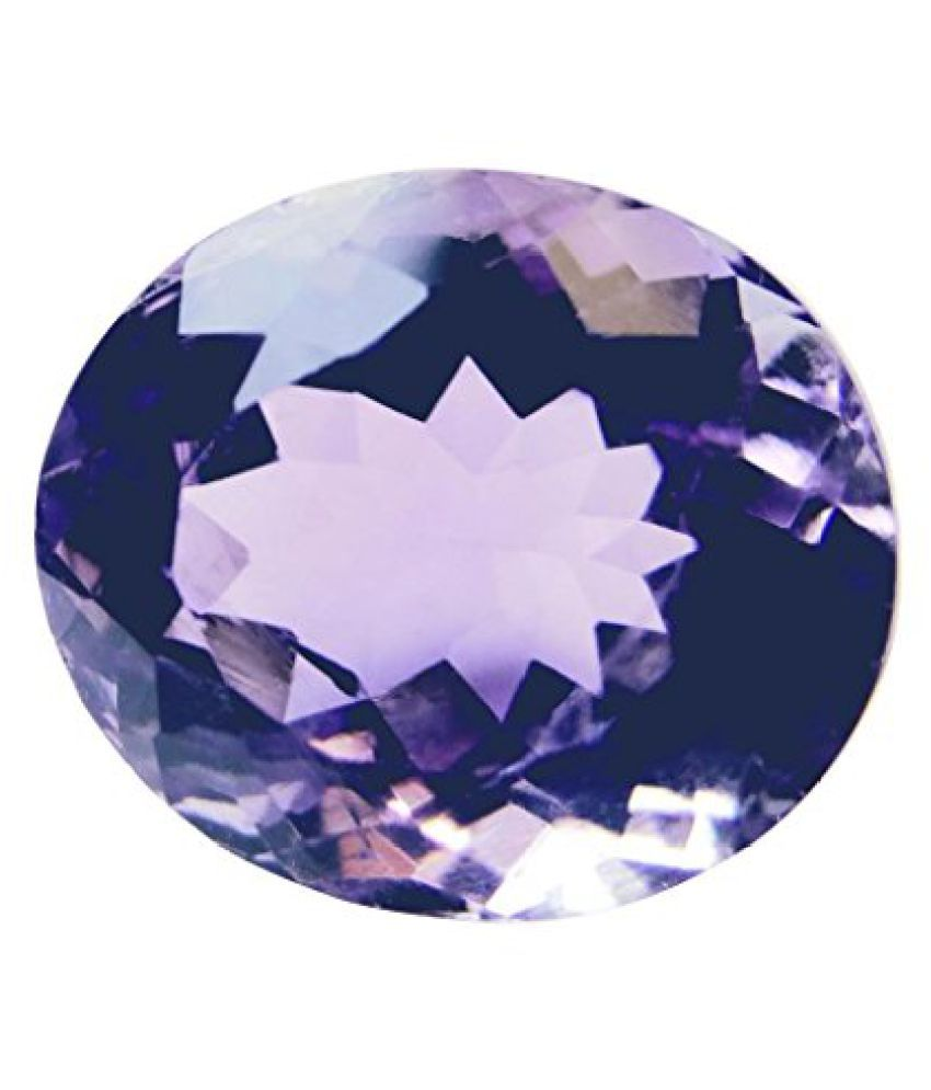 8.03 ct. / 8.92 Ratti Natural & Certified AMETHYST (KATHELA) BIRTHSTONE BY ARIHANT GEMS & JEWELS BY ARIH...
