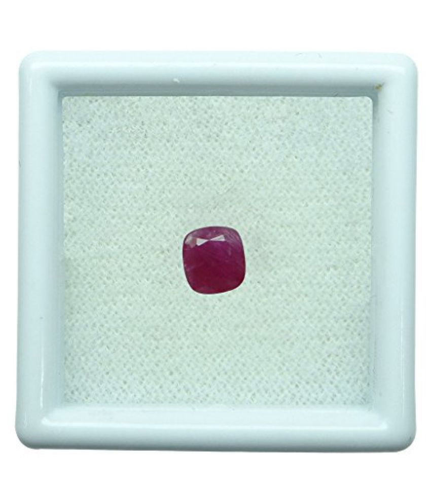 0.94 ct. / 1.04 Ratti BURMESE NATURAL & IIGS CERTIFIED RUBY (MANIK) ASTROLOGI...