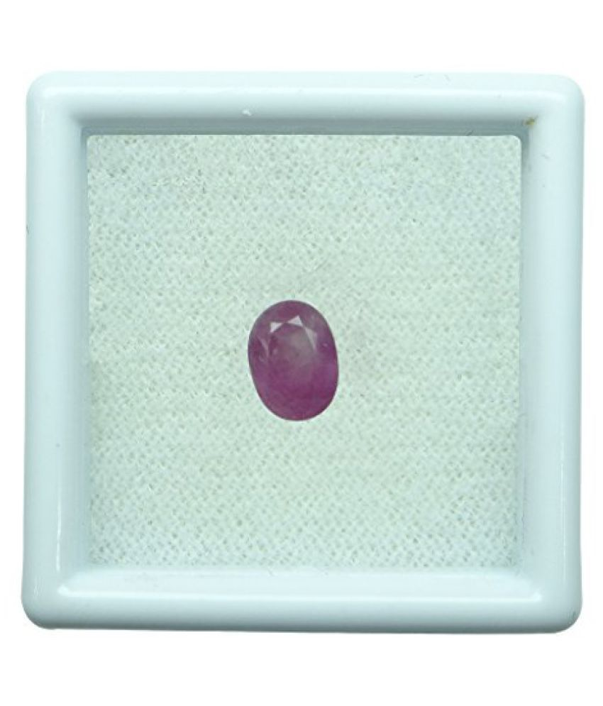 1.34 ct. / 1.49 Ratti BURMESE NATURAL & IIGS CERTIFIED RUBY (MANIK) ASTROLOGI...