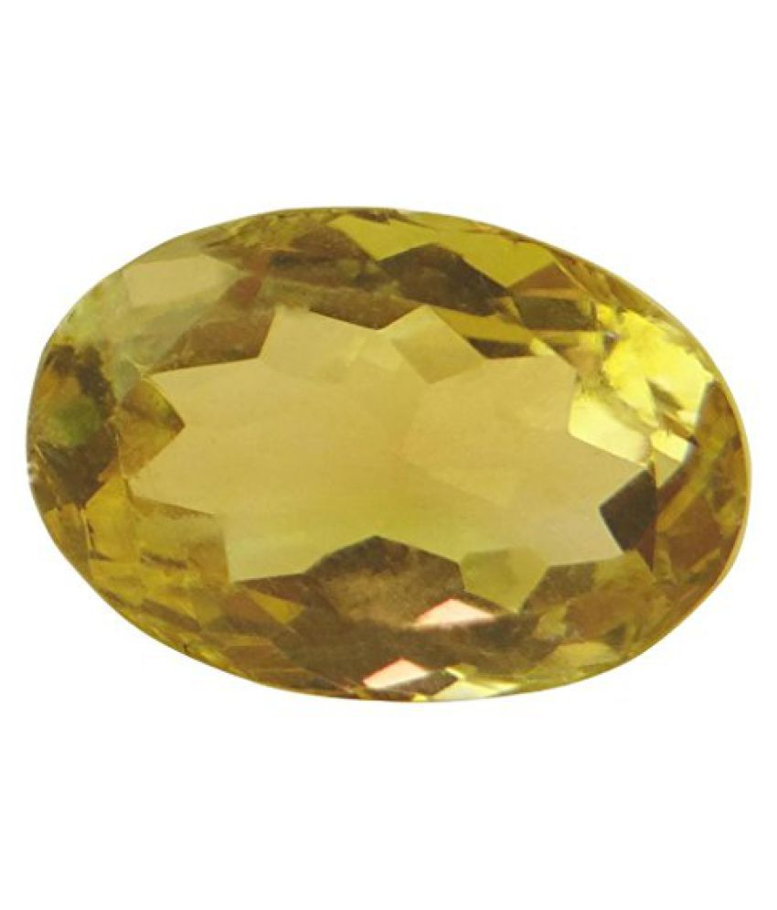 5.06 ct. / 5.62 Ratti Natural & Certified CITRINE (SUNHELLA) BIRTHSTONE BY ARIHANT GEMS & JEWELS