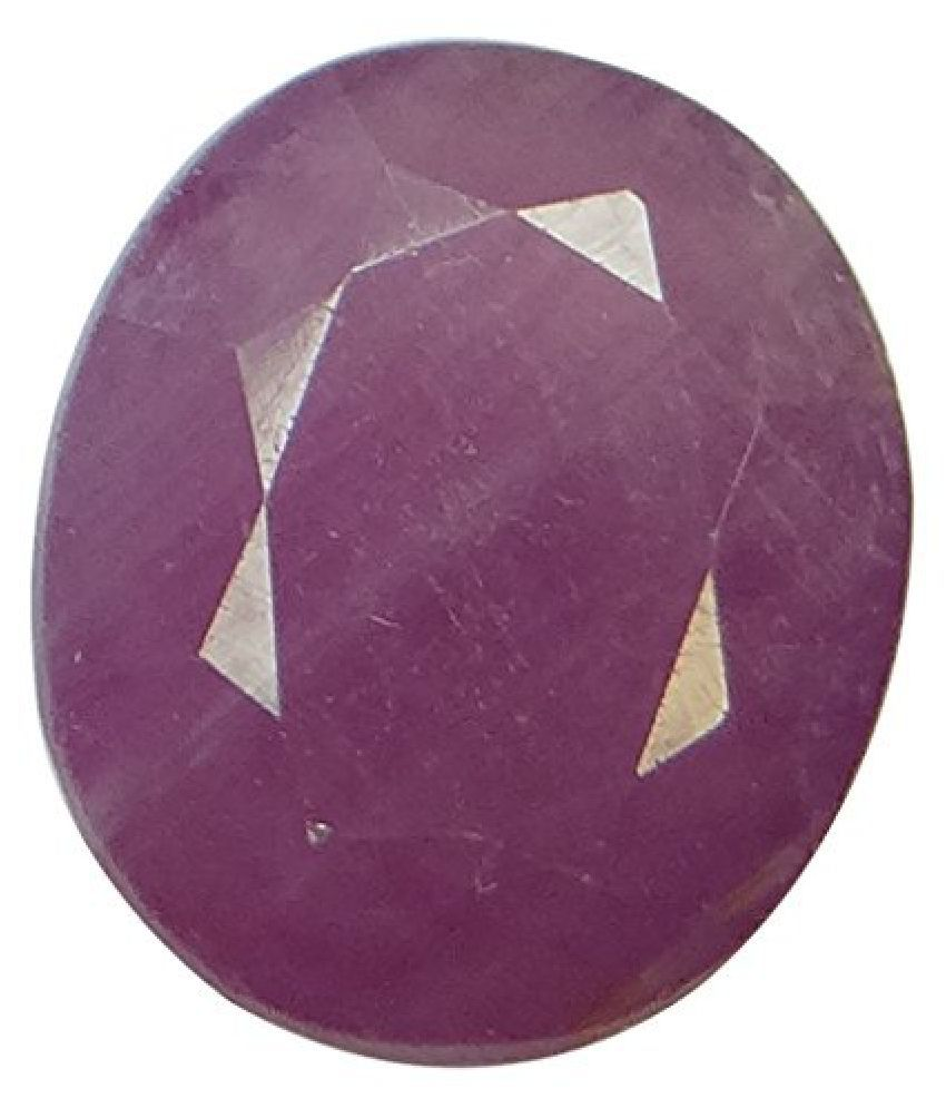 Arihants 5.88 ct. / 6.53 Ratti NATURAL & IIGS CERTIFIED RUBY (MANIK) ASTROLOGICAL GEMSTONE