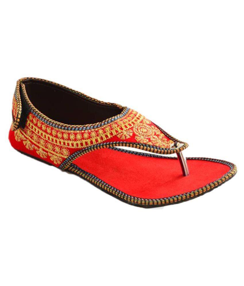 Kuhuk Multi Color Flat Heels