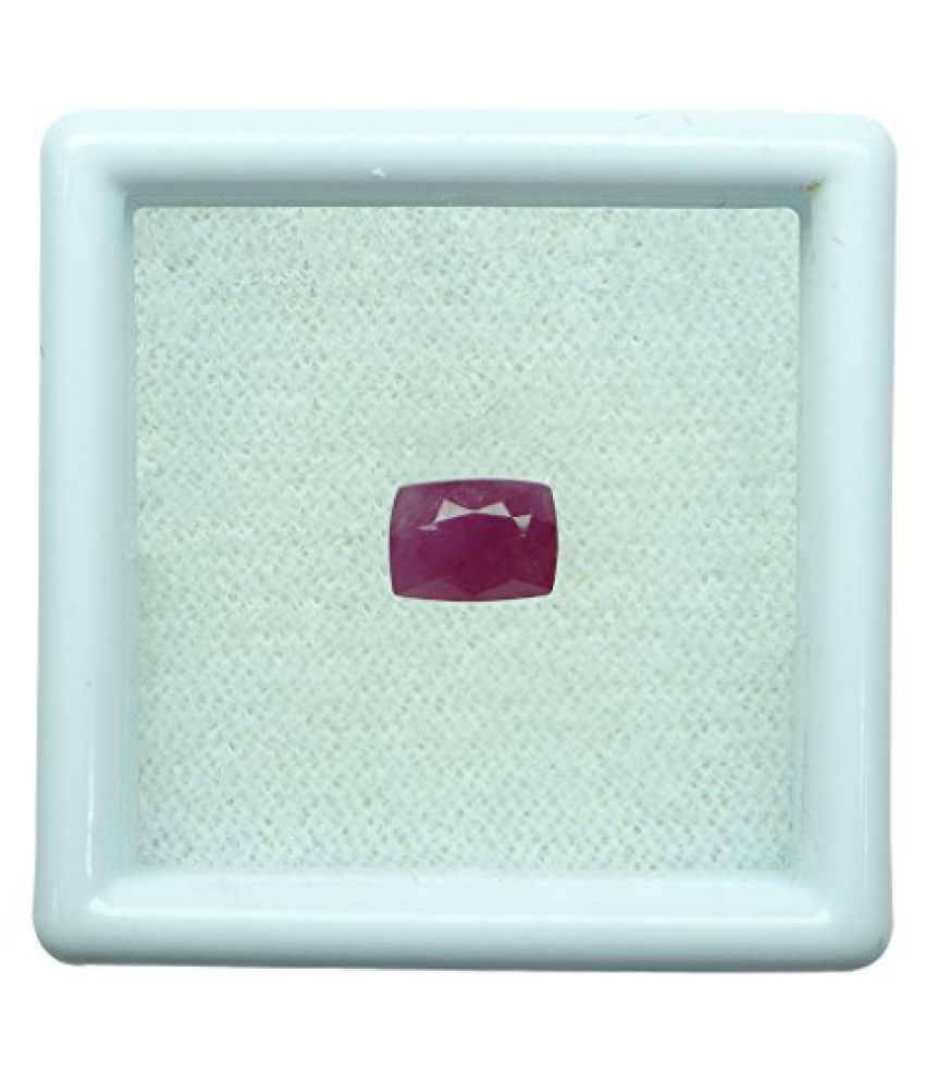 1.16 ct. / 1.29 Ratti BURMESE NATURAL & IIGS CERTIFIED RUBY (MANIK) ASTROLOGI...