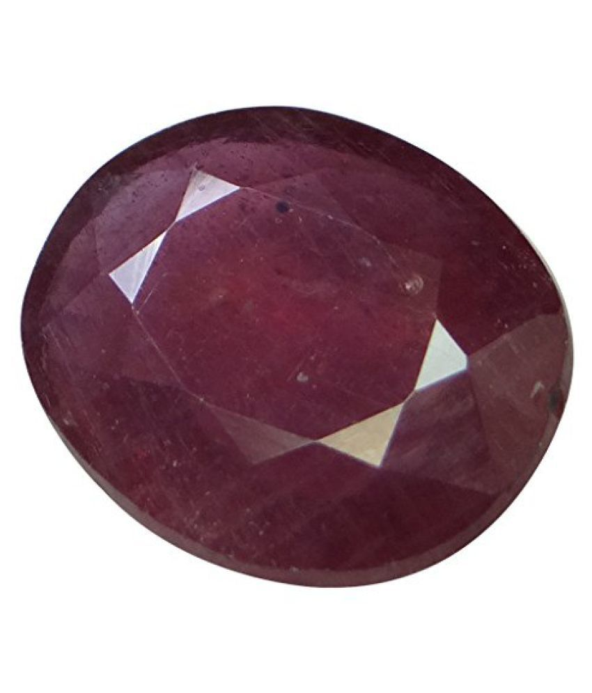8.71 ct. / 9.68 Ratti PURE & IIGS CERTIFIED RUBY (MANIK) ASTROLOGICAL BIRTHSTONE BY ARIHANT GEMS & JEWELS
