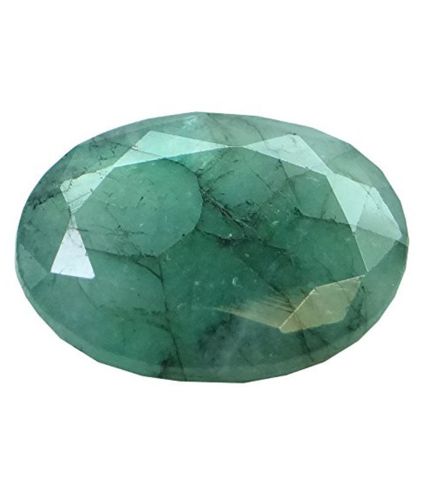 5.67 ct. / 6.3 Ratti PURE & IIGS CERTIFIED EMERALD (PANNA) ASTROLOGICAL GEMSTONE
