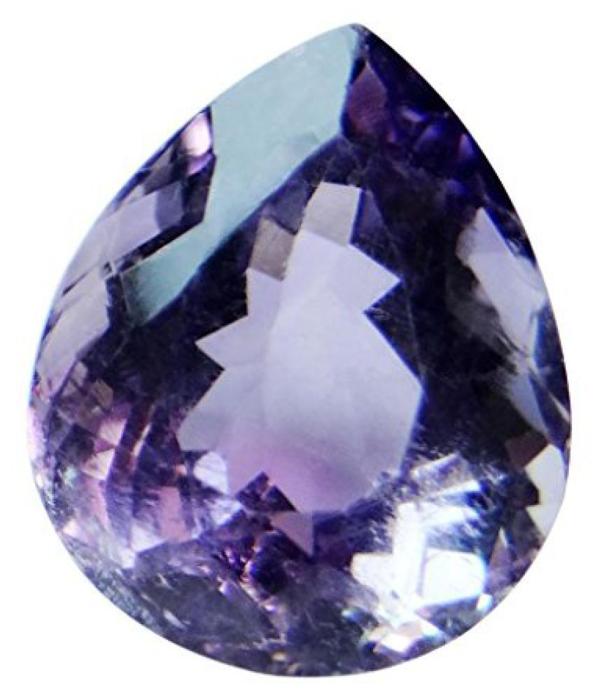 6.16 ct. / 6.84 Ratti Natural & Certified AMETHYST (KATHELA) BIRTHSTONE BY ARIHANT GEMS & JEWELS