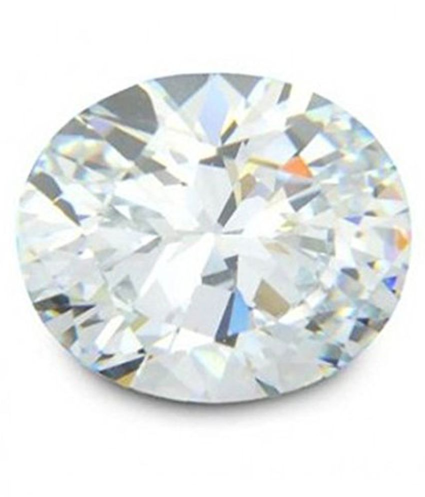 10.25 Ratti White Zircon Natural Gemstone GLI Certified