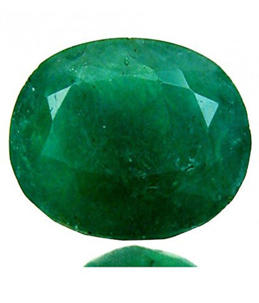 3.25 Ratti Taurus Sign Panna Emerald Gemstone