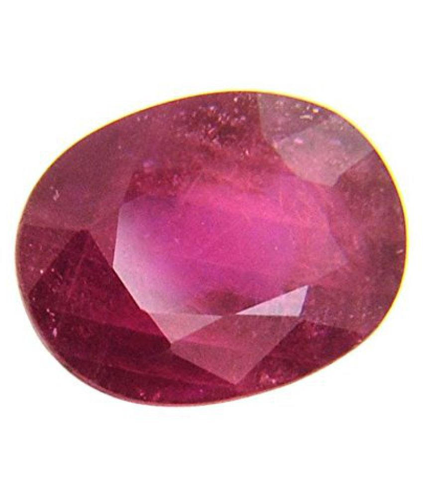 9.25 Ratti Certified Natural Ruby Stone