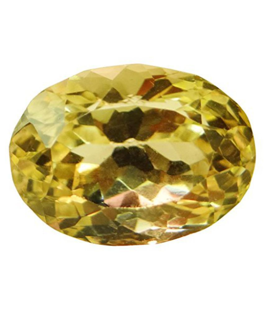 9.95 ct. / 11.05 Ratti Natural & Certified CITRINE (SUNHELLA) BIRTHSTONE BY ARIHANT GEMS & JEWELS