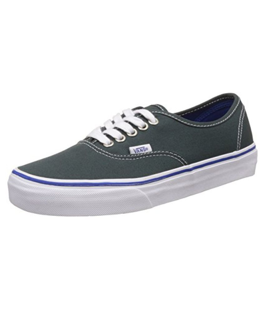 f85d181cb6 Vans Unisex Authentic Green Gables and True White Sneakers - 6 UK India (39  EU) - Buy Vans Unisex Authentic Green Gables and True White Sneakers - 6 ...