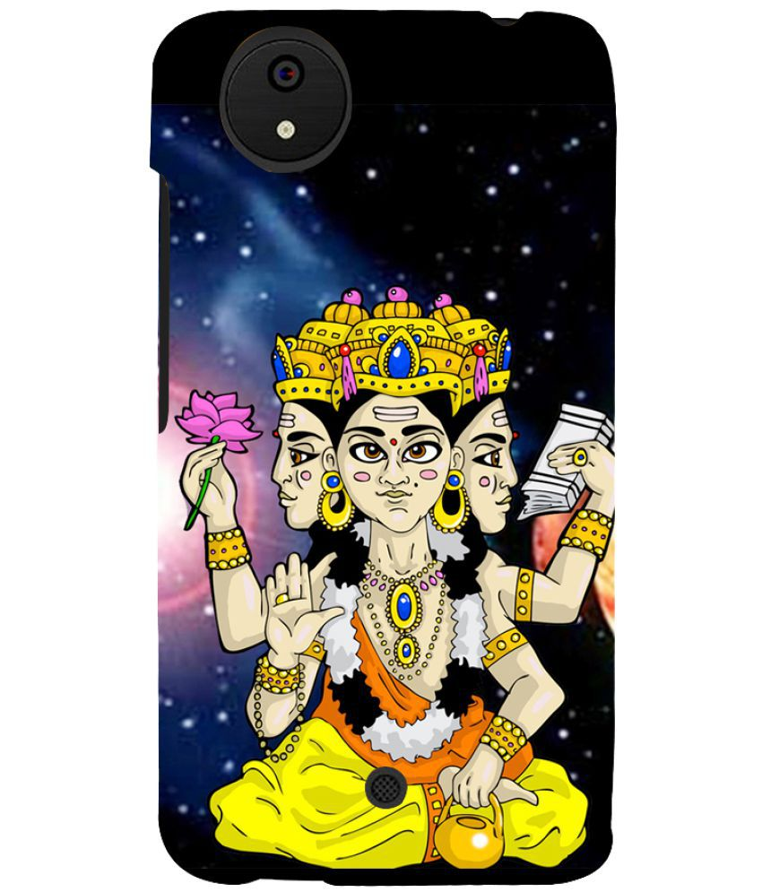 Micromax Canvas Android One Printed Cover By PrintVisa