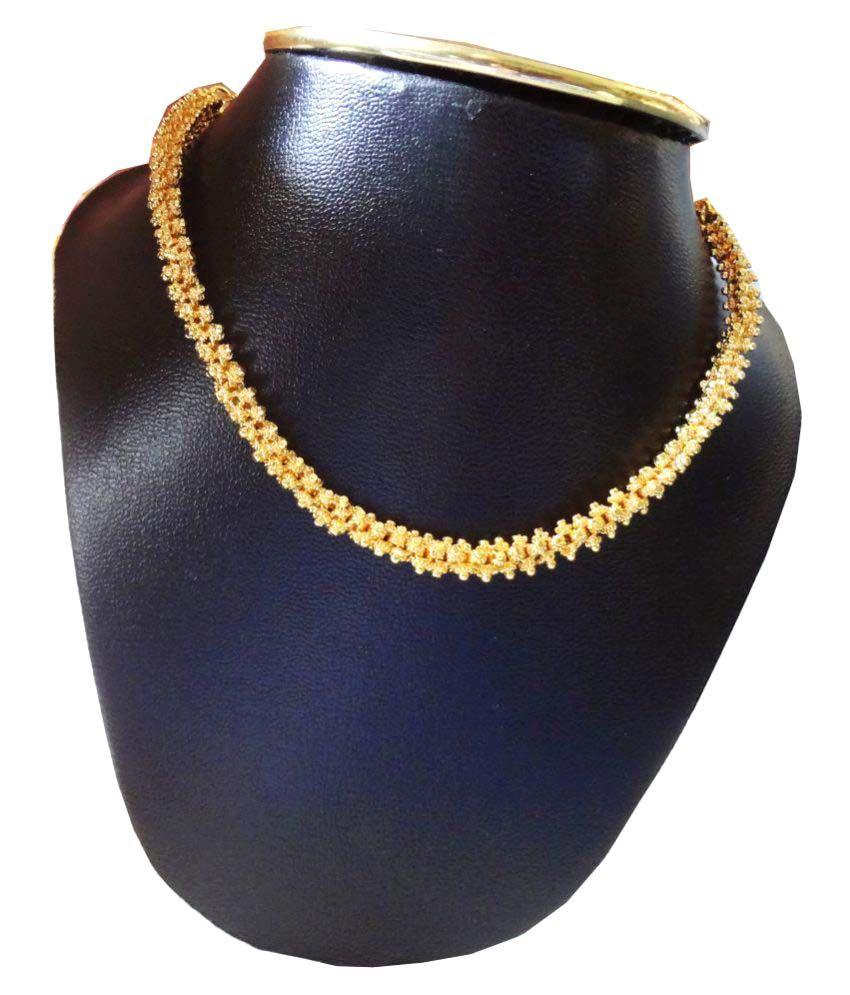 SSJ Gold Plated Thusi Neaklace Set