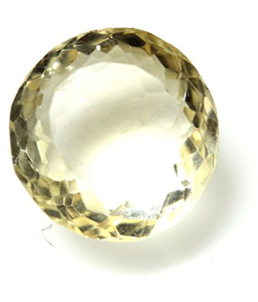 LOOSE 100% NATURAL & CERTIFIED 4.85 ct. CITRINE BIRTHSTONE BY ARIHANT GEMS & JEWELS BY ARIHANT GEMS & JE...