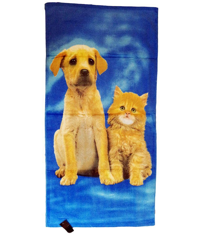 Catman Multi Cotton Bath Towels 1