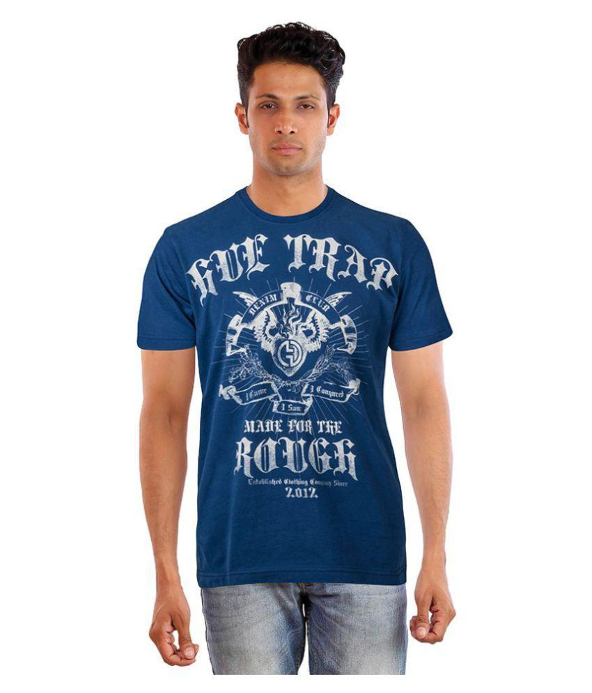 8660f751e0 ROADSTER MAROON NAVY STRIPED T SHIRT price at Flipkart, Snapdeal ...