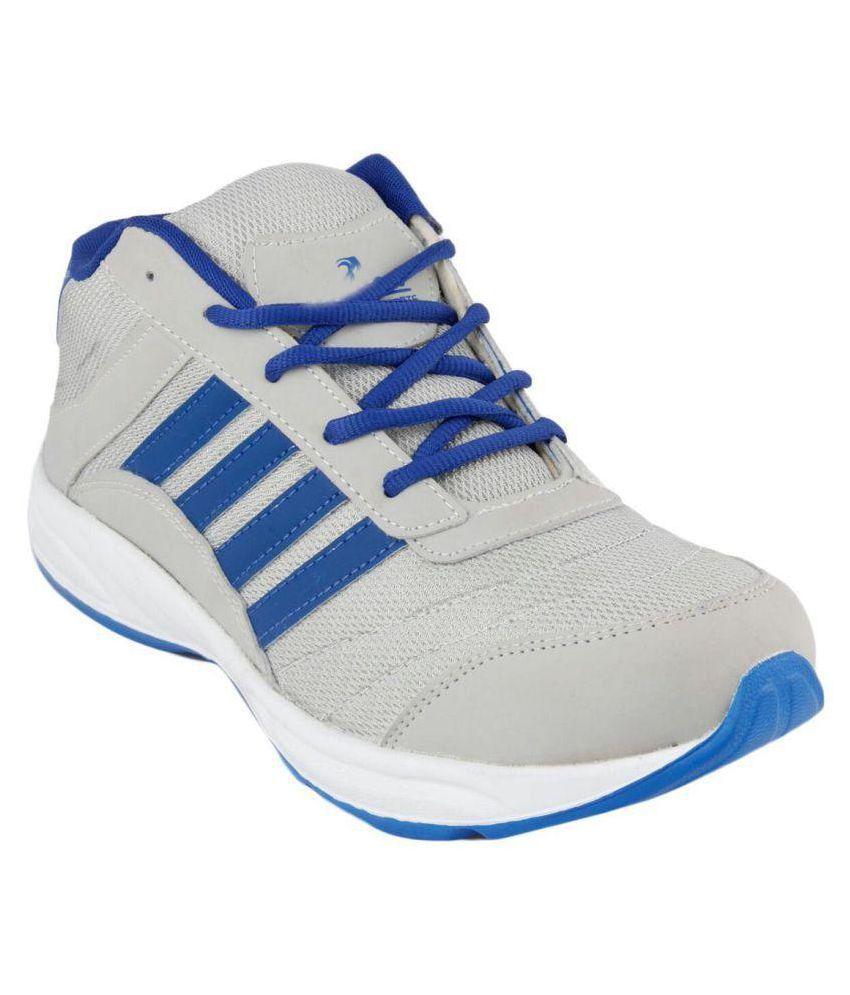 Saini Trading Company Gray Running Shoes