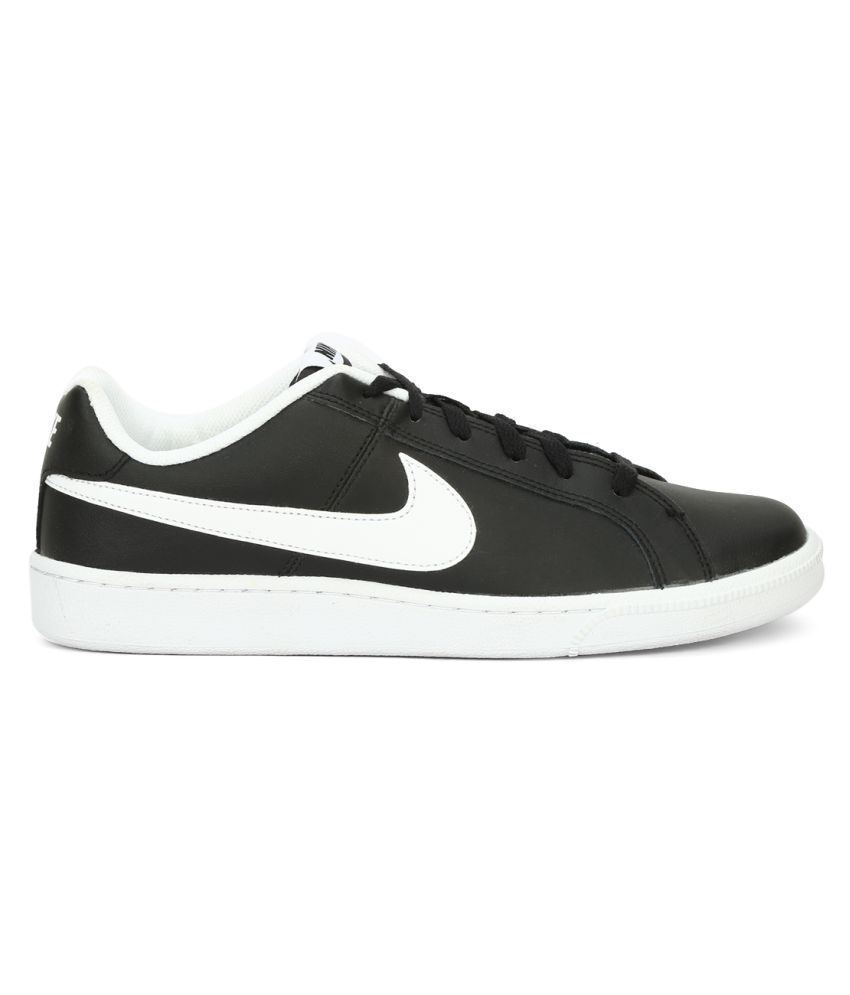 Nike Court Royale Black Tennis Shoes