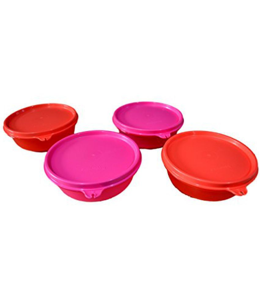 Tupperware New Buddy Bowl Set  300ml , Set Of 4