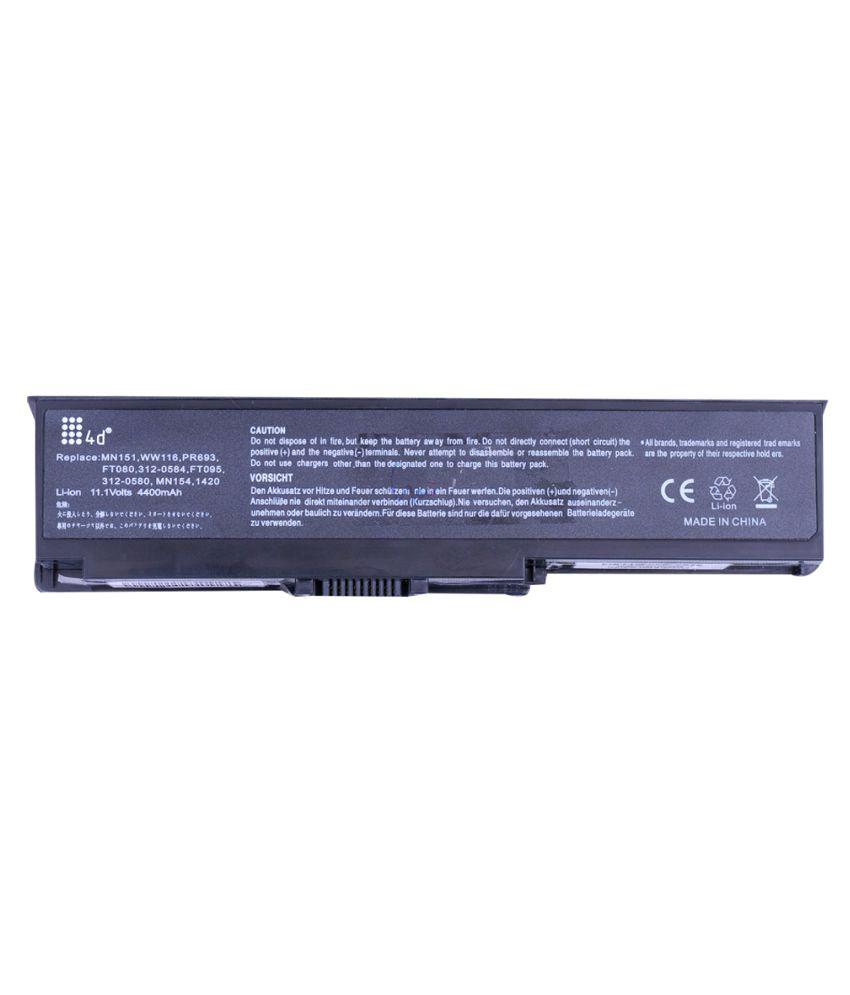 4D Impex Laptop battery Compatible For Dell INSP-MN151-6CLB