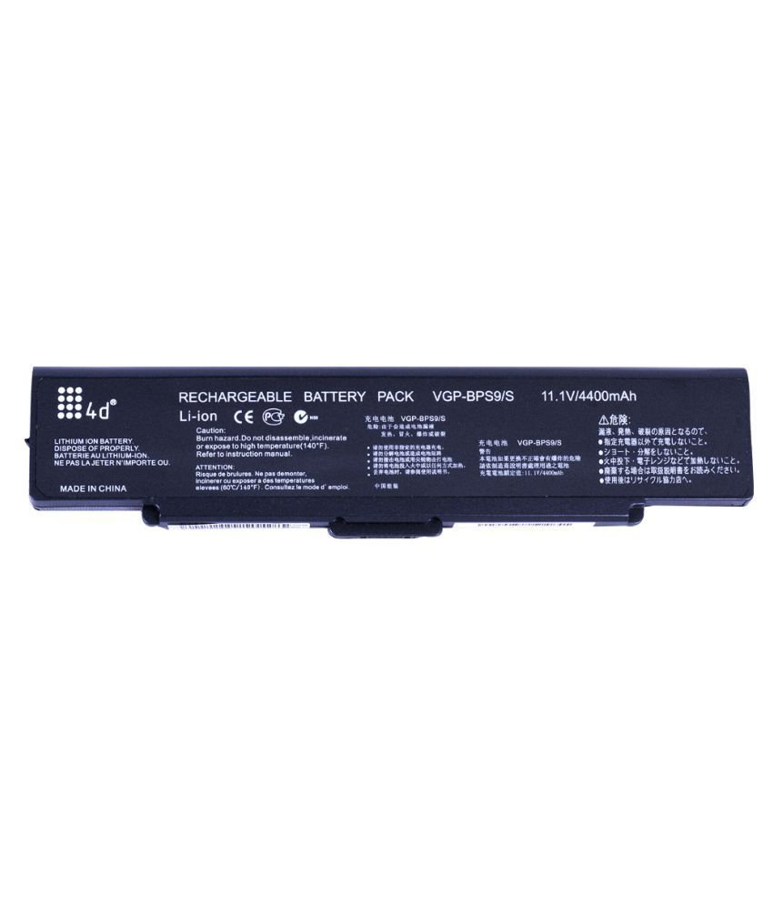 4d Impex Laptop battery Compatible For Sony VAIO-VGN-SZ85US-6CLB