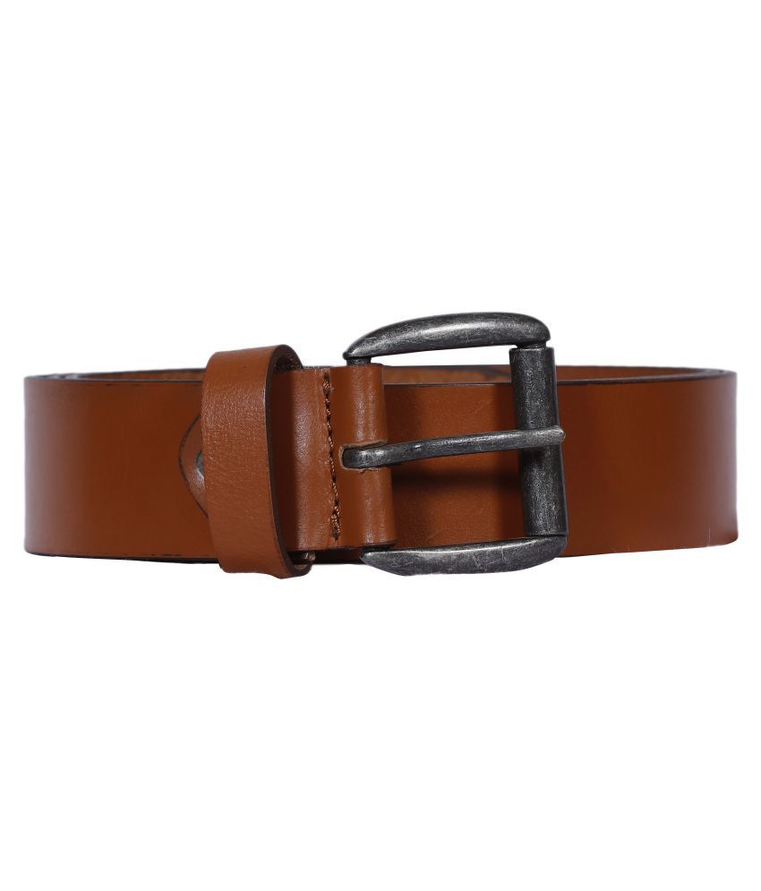 Stagland Tan Leather Casual Belts