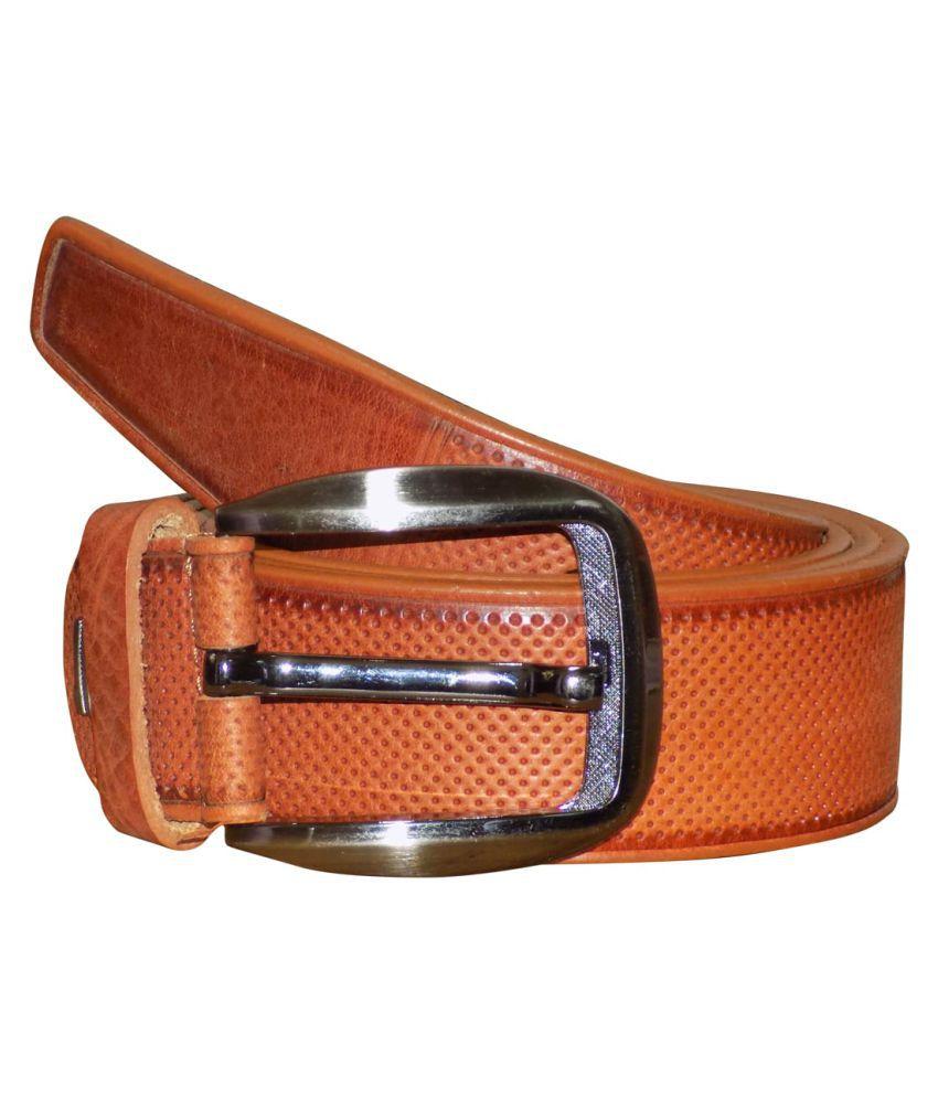 Kan Tan Leather Formal Belts