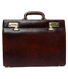 Hammonds Flycatcher Brown Medium Briefcase