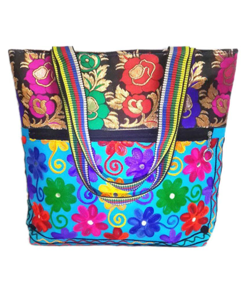 Dineshalini Creations Multi Non Leather Shoulder Bag