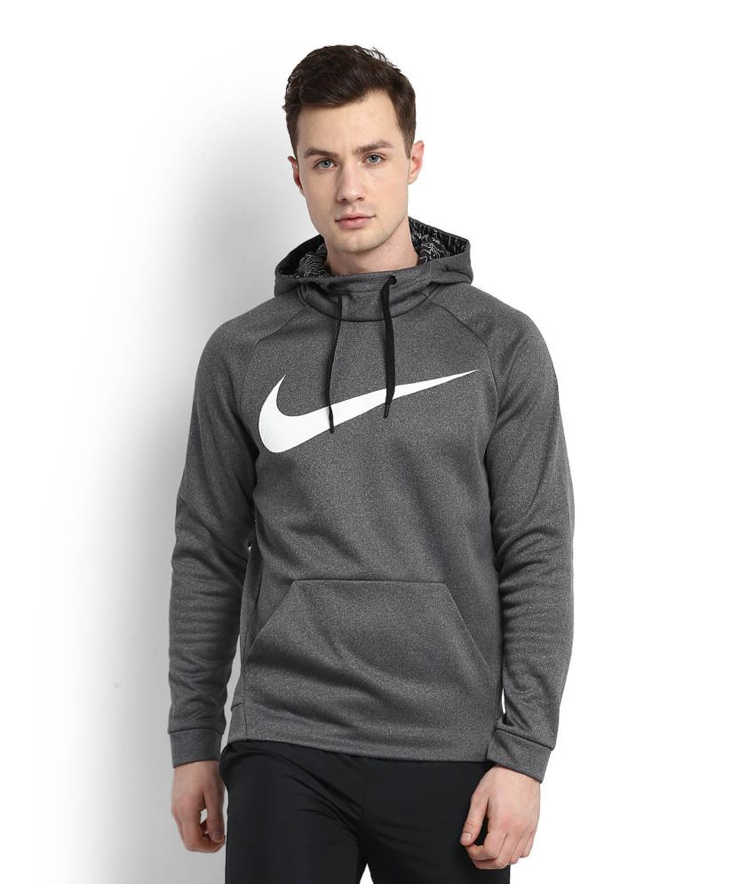 11ee04dd5a55 Nike Grey High Neck Sweatshirt - Buy Nike Grey High Neck Sweatshirt Online  at Low Price in India - Snapdeal