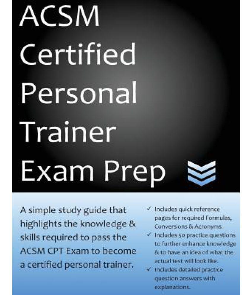 ACSM Certified Personal Trainer Exam Prep