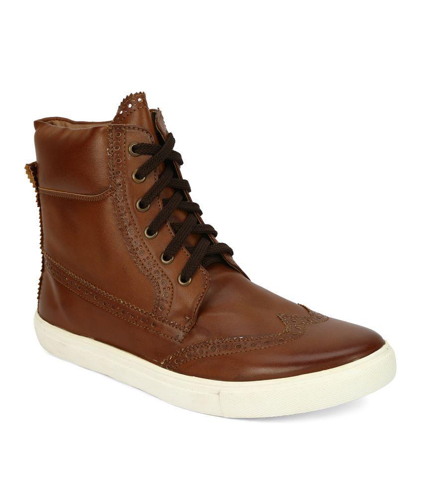 Knotty Derby Tan Casual Boot