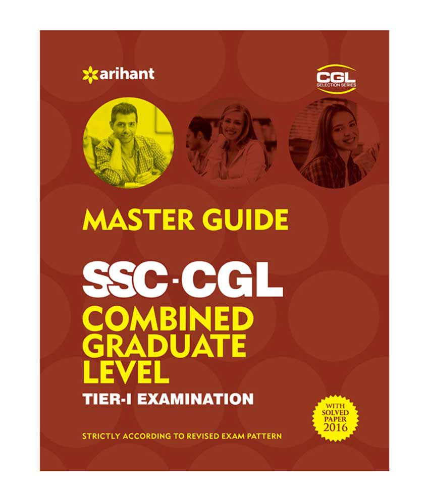 Master Guide SSC Combined Graduate Level Tier-I Examination 2017