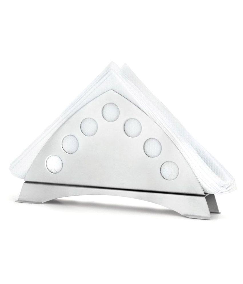 hmsteels stainless steel napkin holder  pcs buy online at best  - hmsteels stainless steel napkin holder  pcs
