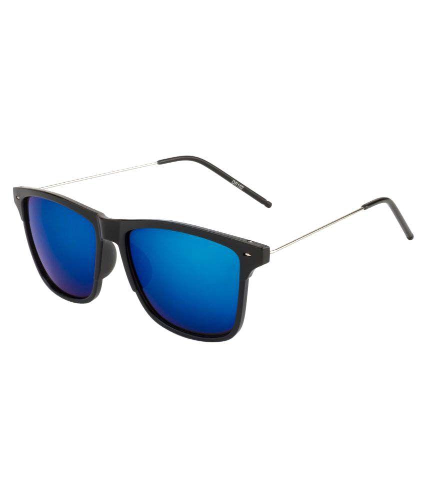 Fair-X Blue Wayfarer Sunglasses ( ZR4424 )