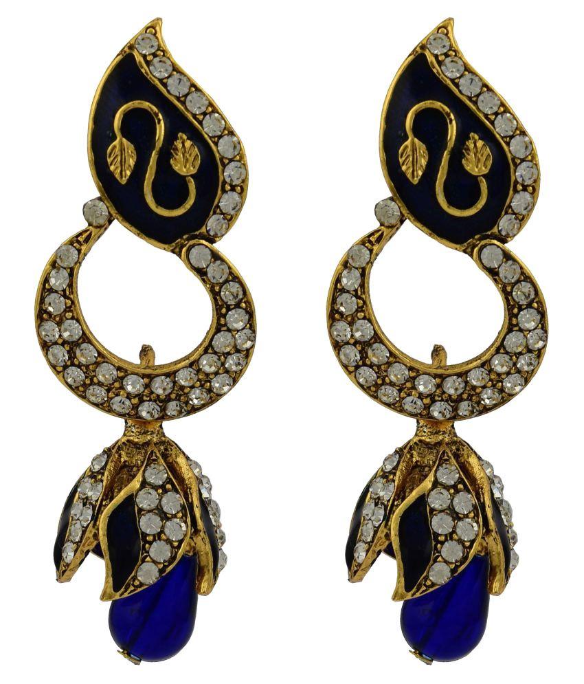 High Trendz Multicolor Hanging Earrings