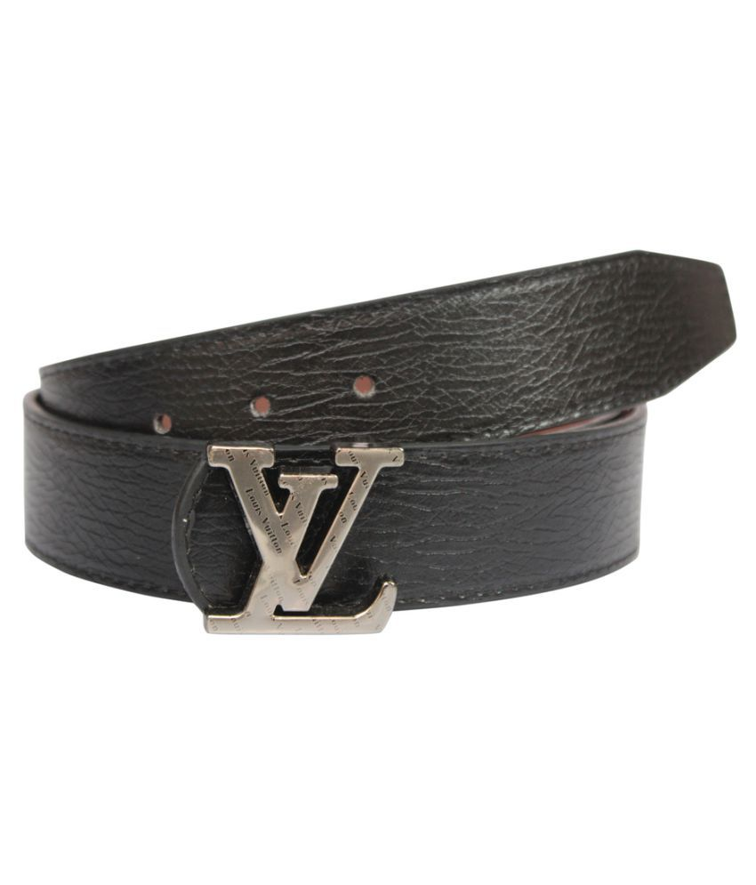 Winsome Deal Black Faux Leather Casual Belts