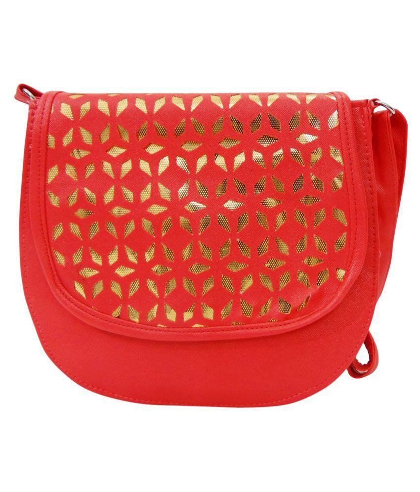 Estoss Orange P.U. Sling Bag