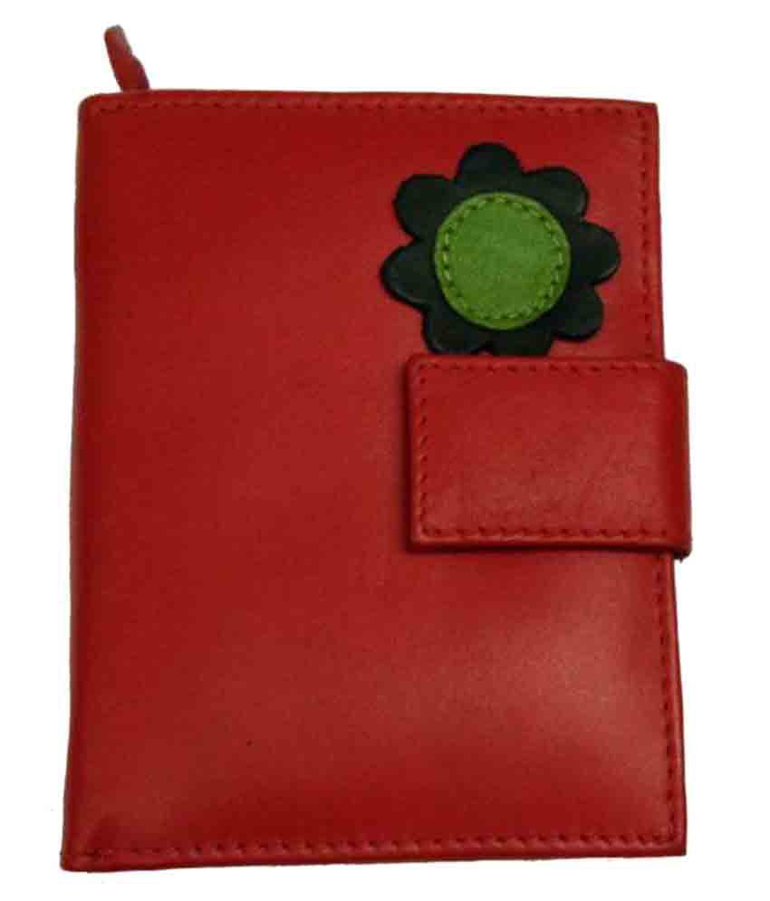 Designe Gallery Red Wallet