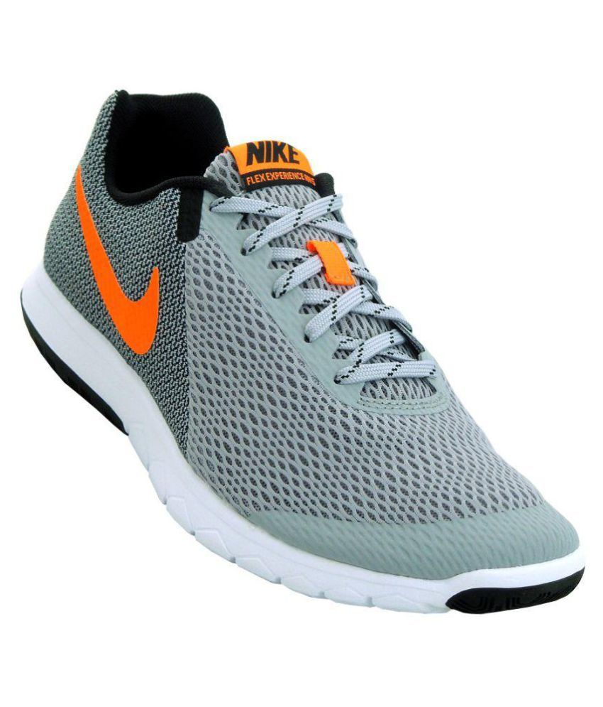 b4b33a456148e Nike Flex Experience Rn 5 Gray Running Shoes - Buy Nike Flex Experience Rn 5  Gray Running Shoes Online at Best Prices in India on Snapdeal