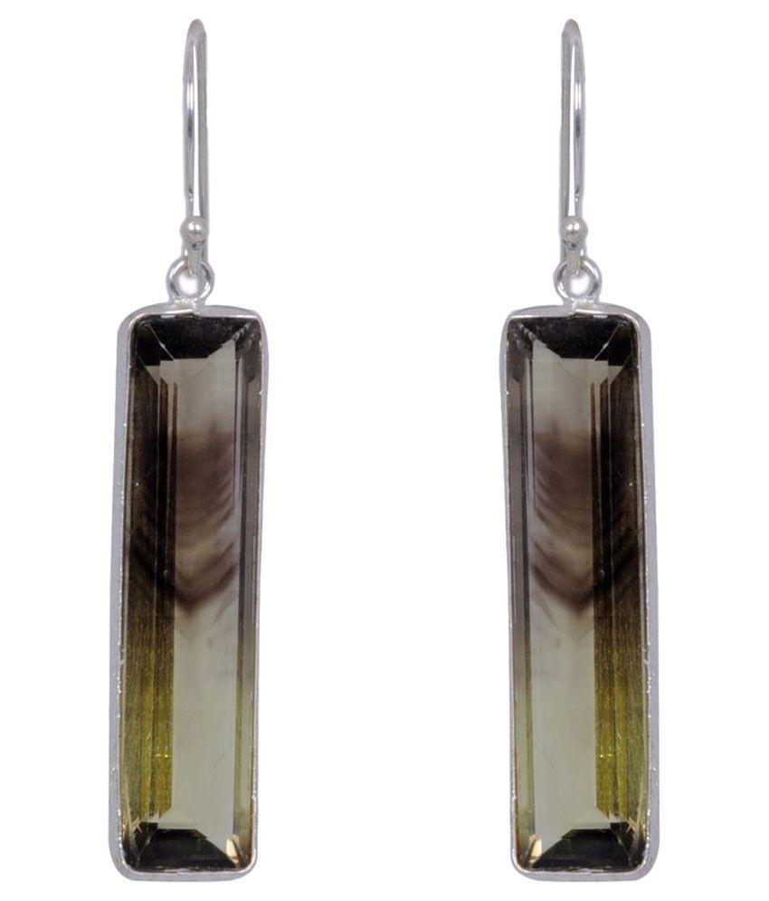 Gehna 92.5 Silver Topaz Hangings