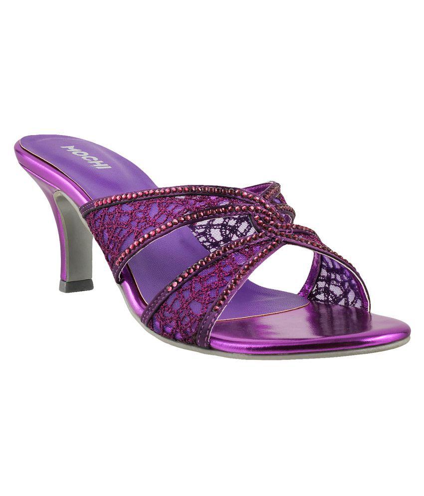 MOCHI PURPLE Stiletto Heels