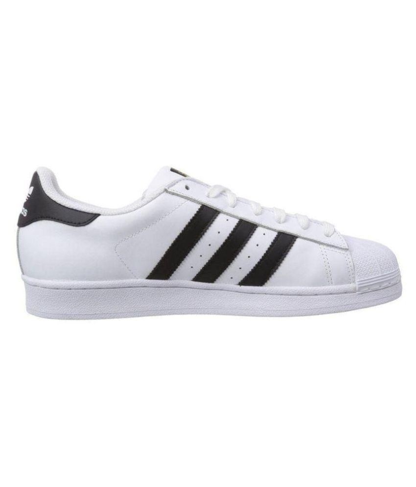 Adidas Superstar White Running Shoes Adidas Superstar White Running Shoes  ... 9e9b6b003