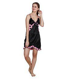 Queen Pretty Satin Nighty & Night Gowns - 652449459942