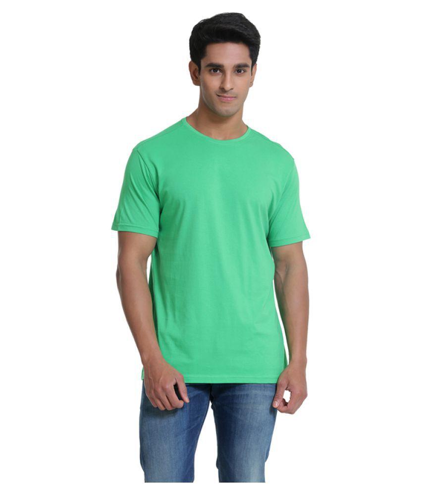 Samtana Green Round T-Shirt