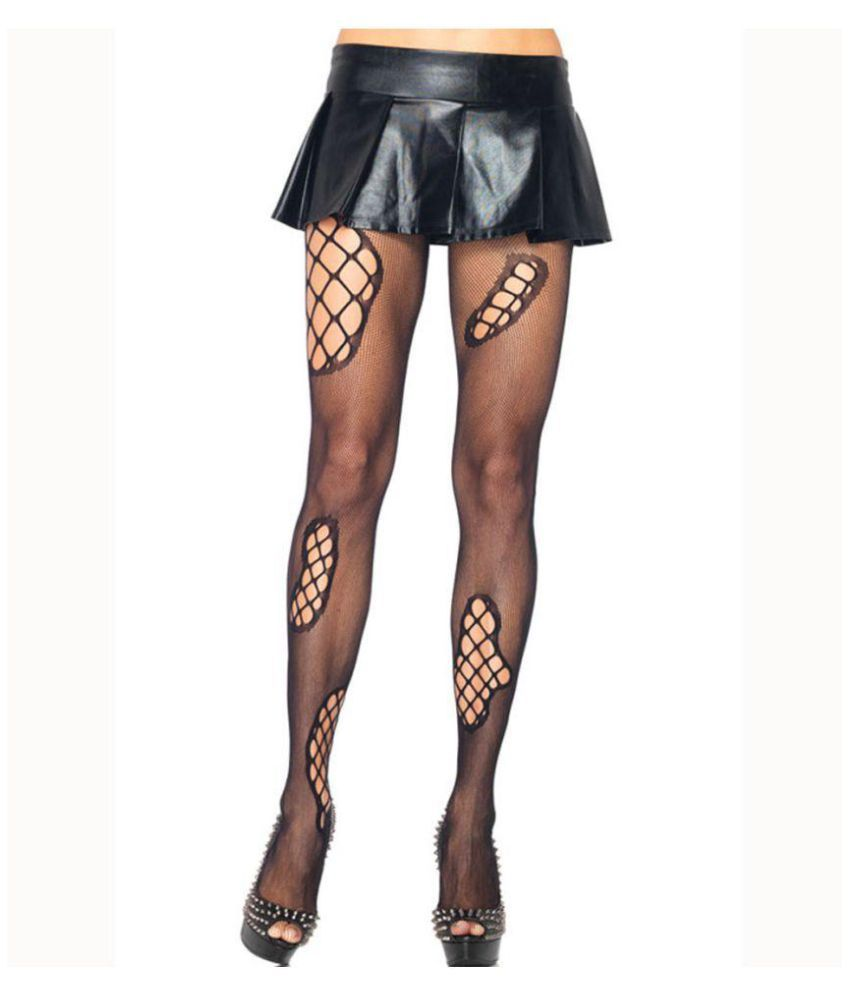 6c367549c VSKin Punk Fishnet Tights  Buy Online at Low Price in India - Snapdeal