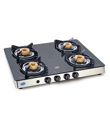 Glen GL 1042 GT AI Forged 4 Burner Auto Gas Stove