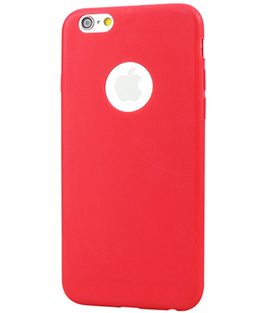 Apple iPhone 5S Soft Silicon Cases Trap - Red